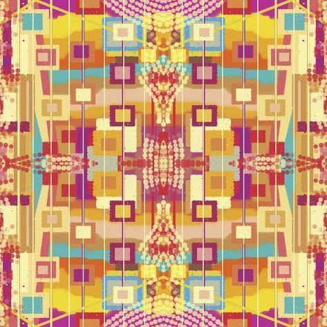 A Play of Squares Giclee Print