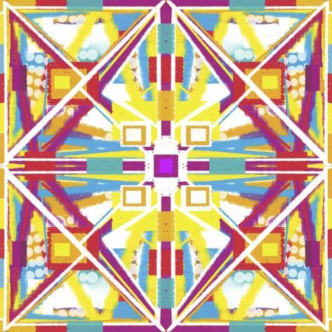 Abstract Cube Giclee Print