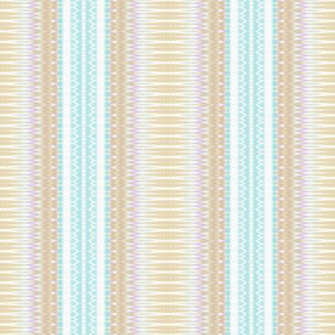 Baby Blue and Brown Giclee Print