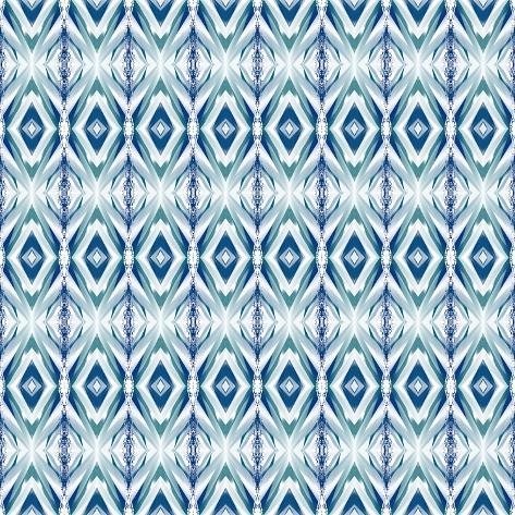 Blue Streaks Giclee Print