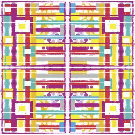 Boxes and Stripes Giclee Print