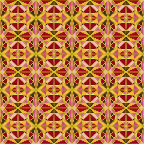 Geometric Cubism Giclee Print