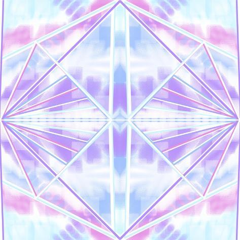 Pastel Flares Giclee Print