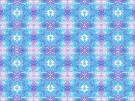 Purple and Blue Ethereal Giclee Print