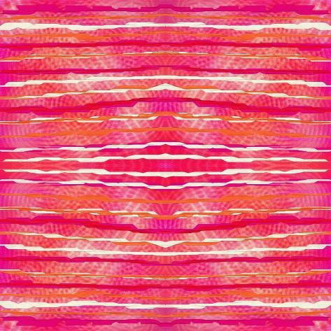 Striped Raspberries Giclee Print