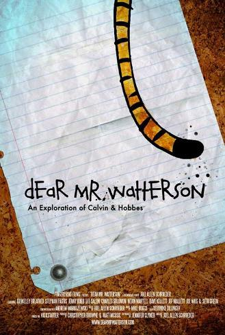 Dear Mr. Watterson Masterprint