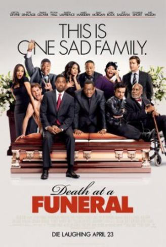 Death At A Funeral Double-sided poster