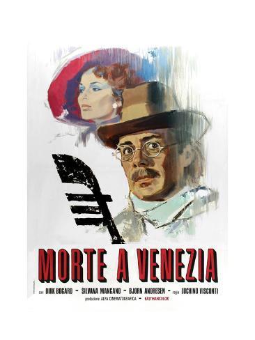 Death in Venice, 1971 (Morte a Venezia) Lámina giclée
