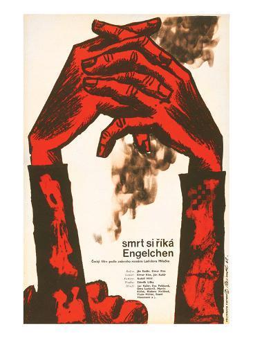 Death is Called Engelchen-Smrt Art Print