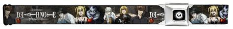 Death Note - Characters Group Seatbelt Belt Novelty