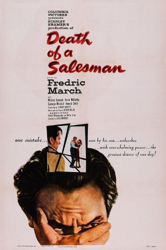 Death of a Salesman, Fredric March, 1951 Art Print