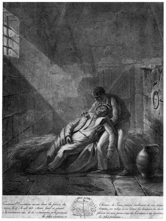 'Death of Toussaint Louverture, Haitian Revolutionary ...