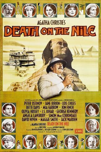 Death on the Nile, 1978 Lámina giclée