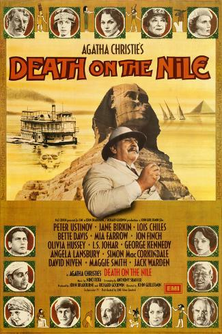 Death on the Nile Art Print