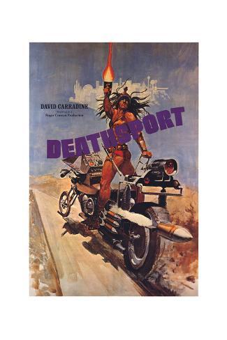 Deathsport Art Print