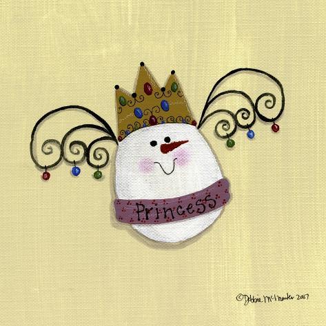 Egg Princess Giclee Print