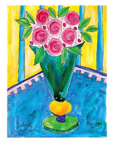 Joyful Rose Bouquet Art Print