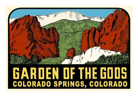 Decal for Garden of the Gods, Colorado Springs Art - AllPosters.co.uk