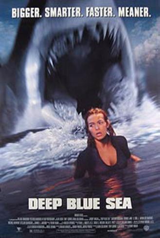 Deep Blue Sea Original Poster