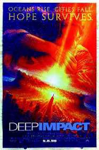 Deep Impact Póster original