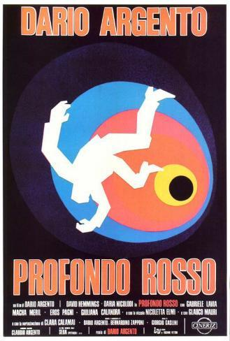 Deep Red - Italian Style Poster
