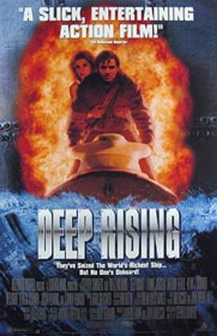 Deep Rising Original Poster