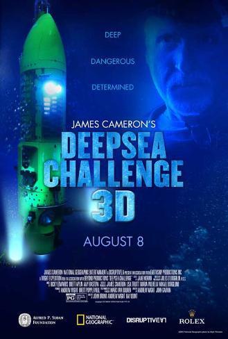 Deepsea Challenge 3D Masterprint