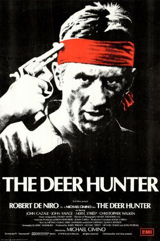 Deer Hunter Art Print