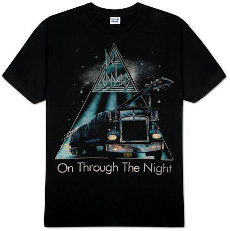 Def Leppard - On Through The Night T-Shirt