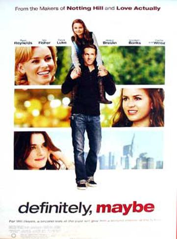 Definitely, Maybe Double-sided poster