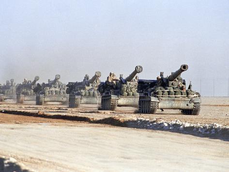 U.S. Howitzers Photographic Print