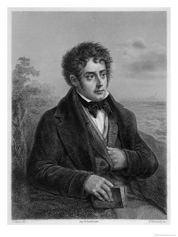 Francois-Rene Vicomte De Chateaubriand French Writer of Romantic Leanings Giclee Print