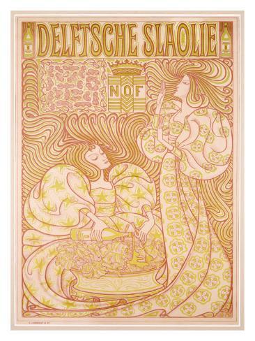 Delftsche Slaolie Giclee Print
