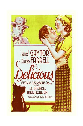 Delicious - Movie Poster Reproduction Art Print