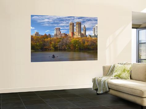 Central park new york city usa wall mural by demetrio for Central park mural