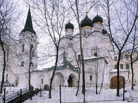 Church of Podkopaev, Moscow, Ruusia Photographic Print