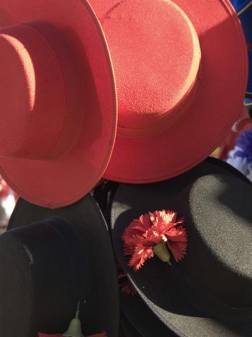 Hats, Plaza de Espana, Seville, Sevilla Province, Andalucia, Spain Photographic Print