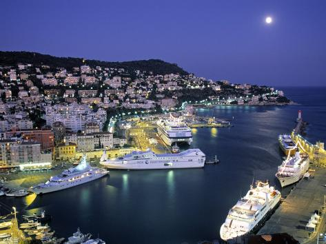 Old Port, Nice, Cote d'Azur, France Photographic Print