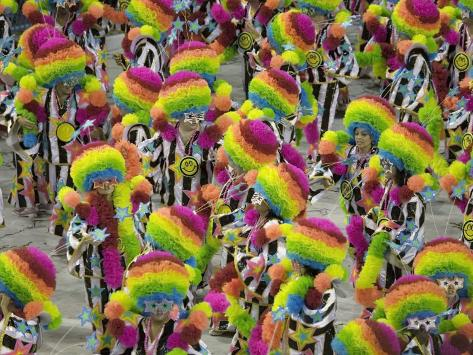 Rio Carnival, Rio De Janeiro, Brazil Photographic Print
