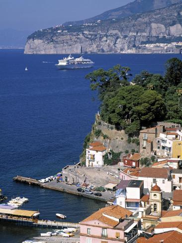 Sorrento, Bay of Naples, Italy Photographic Print