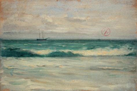 Paisaje marino Lámina
