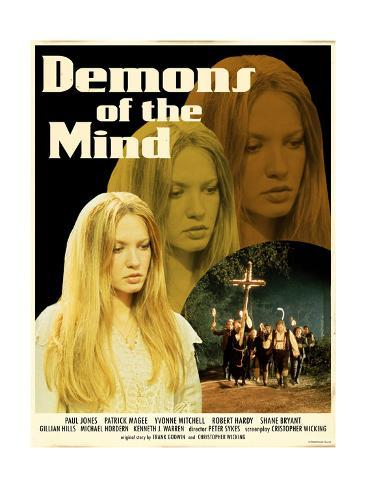 Demons of the Mind 1972 (Yellow) Art Print