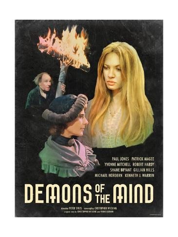 Demons of the Mind 1972 Art Print