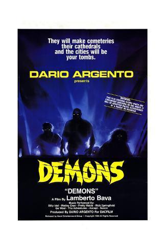 Demons Art Print