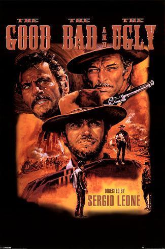 Den gode, den onde, den fule Poster