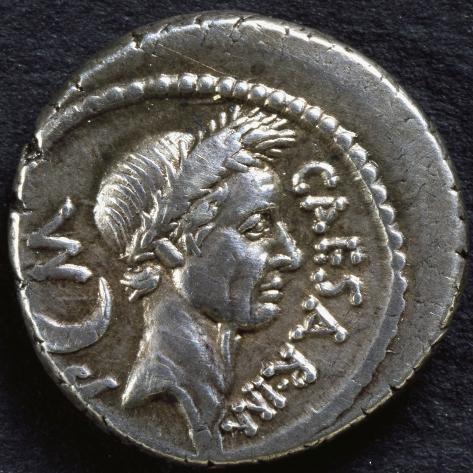 Denarius bearing portrait of julius caesar 45 bc recto roman denarius bearing portrait of julius caesar 45 bc recto roman coins bc freerunsca Images