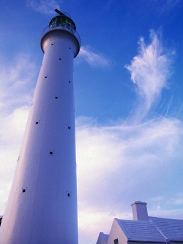 Lighthouse on Bermuda Photographic Print