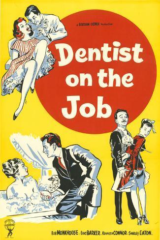 Dentist on the Job Art Print