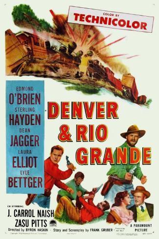 Denver And Rio Grande Masterprint
