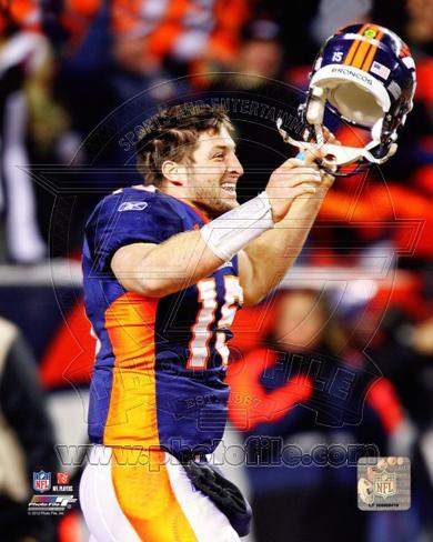 Denver Broncos - Tim Tebow Photo Photo